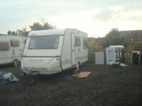 1997 Adria 4 berth caravan