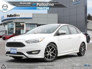 2016 Ford Focus SE LOW KM'S - HEATED SEATS