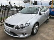 2010 Ford Falcon FG XR6 Silver 6 Speed Sports Automatic Sedan Maidstone Maribyrnong Area Preview