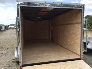 7x14 Enclosed Cargo Trailer Kitchener / Waterloo Kitchener Area image 3