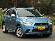 2010 Mitsubishi ASX XA MY11 2WD Blue 5 Speed Manual Wagon Melrose Park Mitcham Area Preview