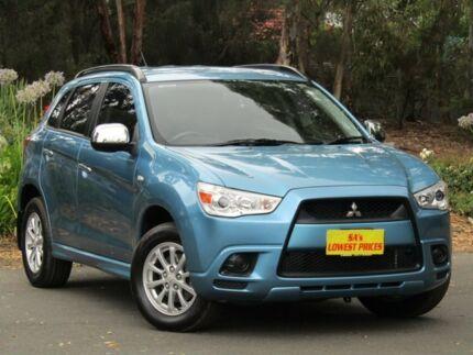 2010 Mitsubishi ASX XA MY11 2WD Blue 5 Speed Manual Wagon