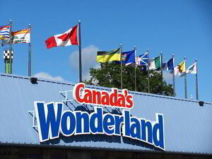 1 x Canada's Wonderland Regular Good Any Day Admission