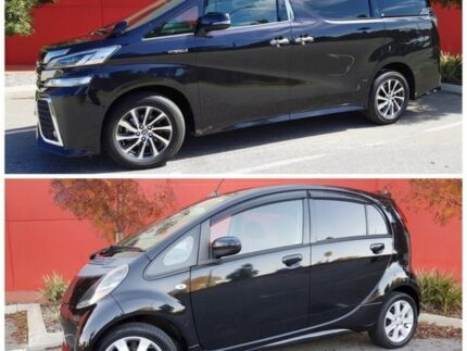 2015 Toyota Vellfire Black Constant Variable Wagon