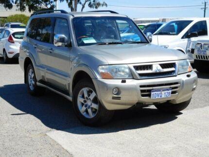 2004 Mitsubishi Pajero NP MY05 Exceed Gold 5 Speed Sports Automatic Wagon Wangara Wanneroo Area Preview