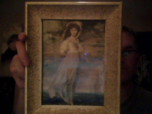 Young Woman Woman Framed Picture