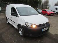 Volkswagen Caddy C20 1.6 Tdi 102Ps Van DIESEL MANUAL WHITE (2013)