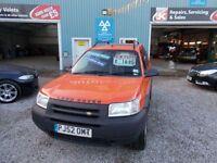LAND ROVER FREELANDER 1.8 KALAHARI STATION WAGON 5d 116 BHP very good co (orange) 2003