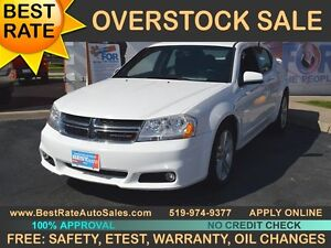 2013 Dodge Avenger  SXT with LEATHER can be yours for $51/week