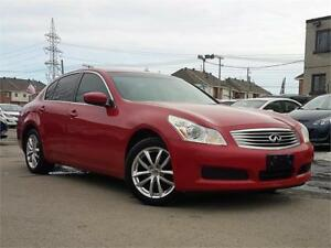 INFINITY G37X LUXURY 2009/AUTO/4X4/CUIR/MAGS/GPS/CAMERA/TOIT/AUX