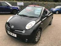 2006 06 nissan micra c+c convertible only 62k immaculate