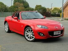 2011 Mazda MX-5 NC30F2 MY09 Roadster Coupe Red 6 Speed Manual Hardtop Chermside Brisbane North East Preview