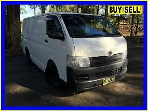 2009 Toyota Hiace KDH201R MY07 Upgrade LWB White 5 Speed Manual Van Lansvale Liverpool Area Preview