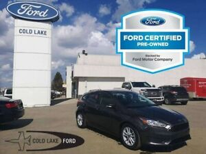 2018 Ford Focus CERTIFIED PRE-OWNED, SE, WINTER PACKAGE: HEATED