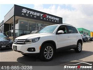 2012 Volkswagen Tiguan CLEAN CARPROOF, SUNROOF, LEATHER