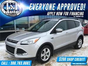 2014 Ford Escape SE 4X4-HEATED SEATS-NAV-BACKUP CAM-LOW KM!