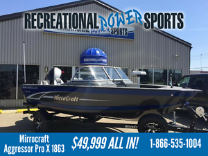 MIRROCRAFT 18FT AGGRESSOR PRO X 1863 - ULTIMATE FISHING BOAT