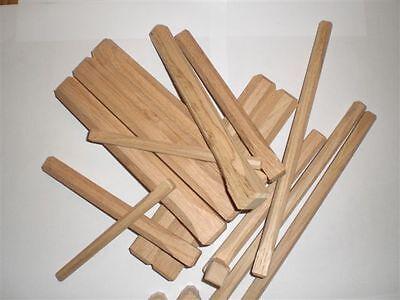 20 Stück Holznagel-Fachwerknagel-Dollen-aus Eiche Länge 120-240mm x 12 bis 30mm - Eiche Nägel