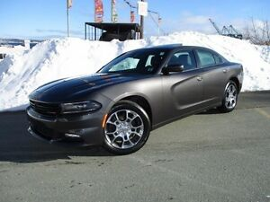 2016 Dodge CHARGER SXT PLUS (AWD, NAVIGATION, LEATHER, MOONROOF,