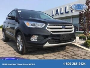 2018 Ford Escape Titanium, AWD, Panoramic Roof, Leather, NAV!!