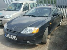 Hyundai Coupe SE 2.0 full leather Must SELL THIS WEEK!!! Spares or repairs breaking
