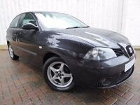 Seat Ibiza 1.4 Stylance 85 16v, 3 Door, Perfect First Car, Long MOT, Service History, Very Low Miles