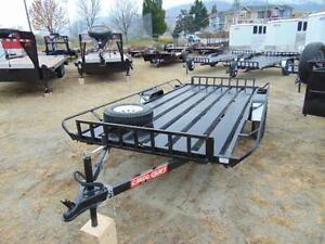 2016 Mirage 6X13 ATV / Utility Trailer w. Ramps and Spare Tire