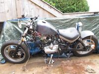 bobber 125 with honda clone engine