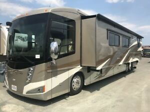2011 ITASCA ELLIPSE 42 QD DIESEL CLASS A MOTORHOME BATH AND HALF