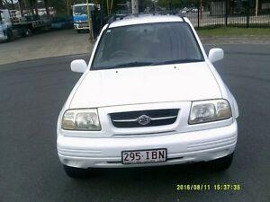 1999 Suzuki Grand Vitara White 4 Speed Automatic Wagon Woodridge Logan Area Preview