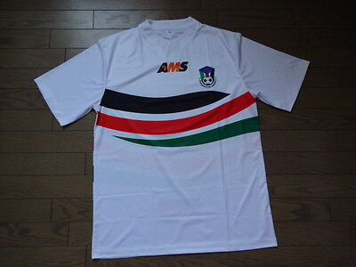 South Sudan 100% Original Soccer Football Jersey AMS BNWOT XL Extremely Rare image