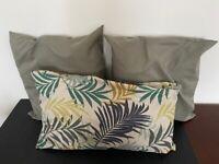 Decorative IKEA cushions