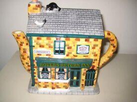 Coronation Street Novelty Teapot Depicting The Rovers Return Inn.
