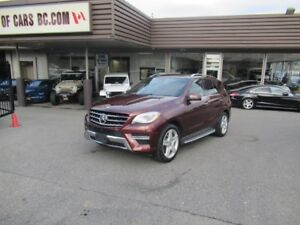 2015 Mercedes Benz ML350 BLUETEC (TURBO DIESEL)