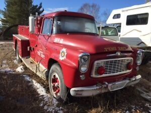 1961 International 180 fire truck