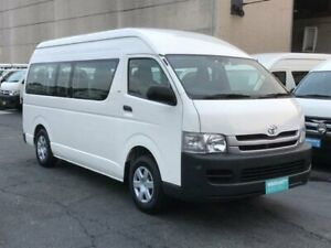 2009 Toyota HiAce TRH223R MY07 Upgrade Commuter White 4 Speed Automatic Bus Revesby Bankstown Area Preview