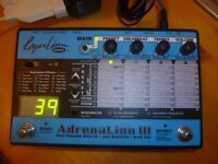 ROGER LINN - AdrenaLinn III - Guitar Effects Processor Pedal - super multi fx unit studio live 👏🏻