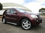 2006 Mercedes-Benz ML W164 350 Luxury (4x4) Burgundy 7 Speed Automatic G-Tronic Wagon Gepps Cross Port Adelaide Area Preview