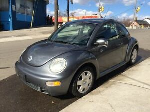 2005 Volkswagen Beetle GLS Coupe-1.9L DIESEL-MANUAL-CERTIFIED