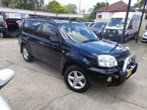 2002 Nissan X-Trail T30 TI Luxury (4x4) Black 5 Speed Manual Wagon Sylvania Sutherland Area Preview