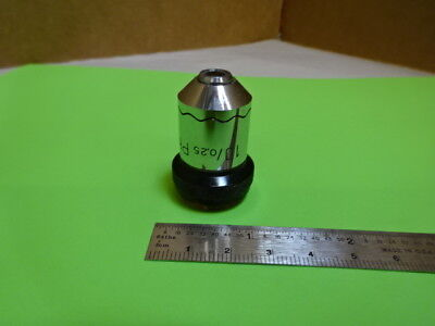 Wild Heerbrugg Swiss M20 Objective Phase 10x Microscope Part Optics As Is 88-12