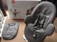 Stokke Steps Baby Bouncer (under warranty in as new condition) rrp 149.00