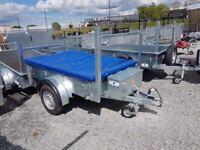 General purpose Trailer with jockey wheel lock prop stand waterproof cover toolbox spare wheel