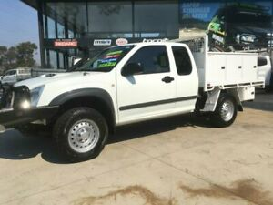 2012 Isuzu D-MAX TF MY12 SX (4x4) White 5 Speed Manual Space Cab Chassis Tuncurry Great Lakes Area Preview