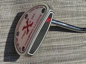 PUTTER SCOTTY CAMERON RED X GAUCHER 35 POUCES EXCELLENTE COND