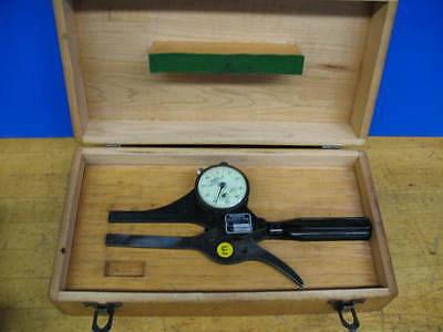 Federal Dial Od Groove Gage Case .040 Width 38 - 78 Diameter Range