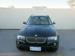 2009 BMW X3 E83 MY09 xDrive 25i Lifestyle Black Sapphire 6 Speed Auto Steptronic Wagon Windsor Gardens Port Adelaide Area Preview
