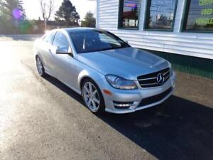 2014 Mercedes-Benz C350 Coupe (FULLY LOADED!) AMG PKG!