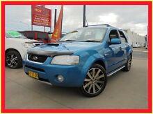 2006 Ford Territory SY Turbo Ghia Blue Auto Sports Mode Wagon Holroyd Parramatta Area Preview