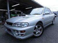 1999 Subaru WRX Hatchback. JDM. 250hp / turbo / manual / awd.